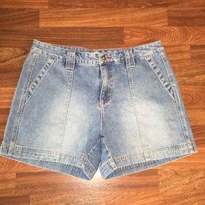 Tommy Hilfiger vintage high waisted denim shorts